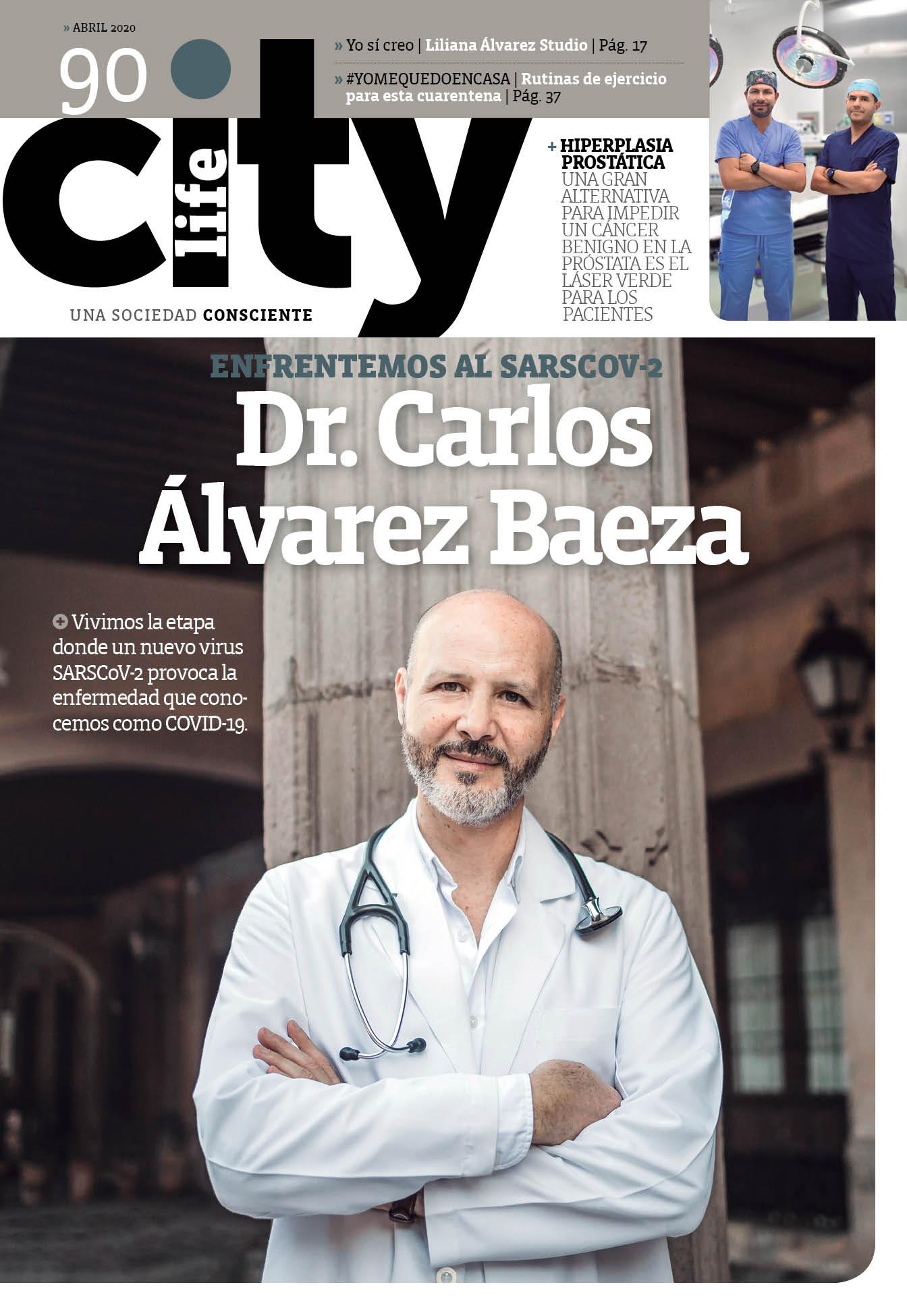 INFECTÓLOGO CARLOS ÁLVAREZ BAEZA