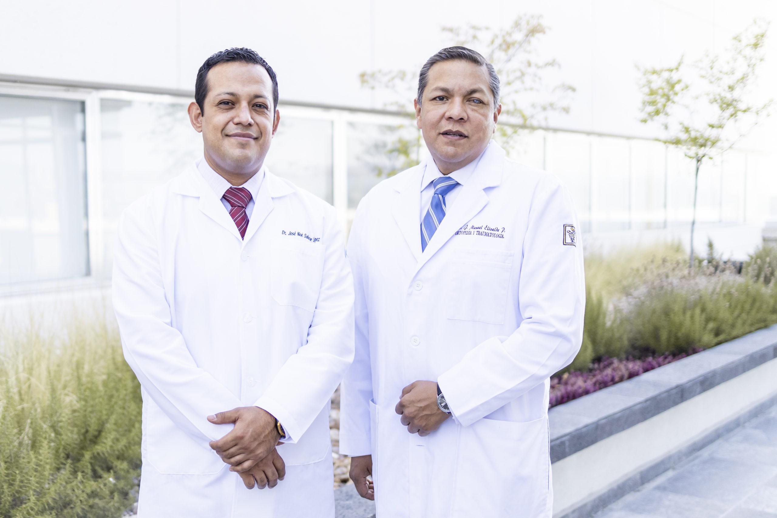 Dr. Juan Manuel Elizalde Peña y Dr. José Noé Salazar López